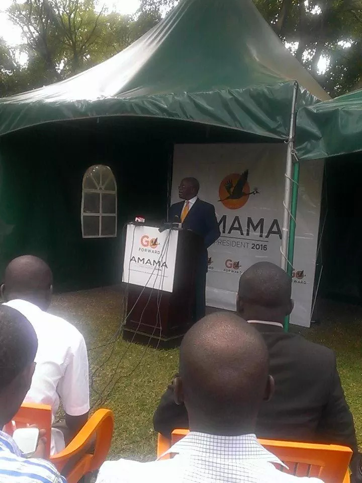 Amama Mbabazi Resigns from NATIONAL RESISTANCE MOVEMENT
